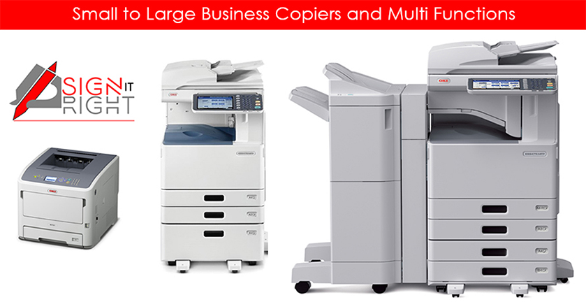 Copiers, Printers and Multi Functions