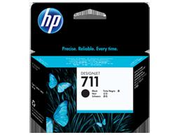 HP 711 80-ml Black DesignJet Ink Cartridge HP 711 80-ml Black DesignJet Ink Cartridge