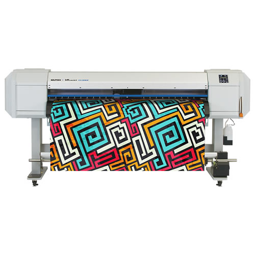 Mutoh ValueJet 1628WX Dye Sublimation Printer