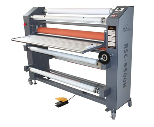 "55"" Heat Assist Top Roller Wide Format Roll Laminator RSC5500H"
