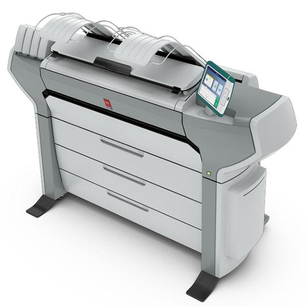 Oce Colorwave 650 Control Panel User Interface for Large Format Printer Plotter